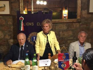 Lions Club Assisi, la nuova presidente ha presentato il programma 2019/20