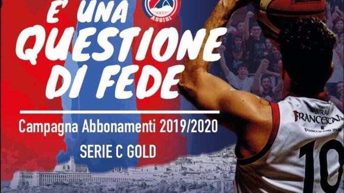 Campagna abbonamenti in vista della C Gold per Virtus Assisi
