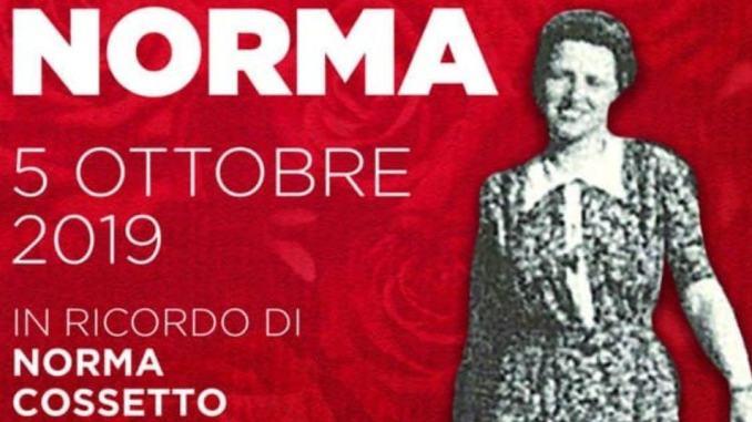 Una rosa per Norma Cossetto, la giovane studentessa istriana
