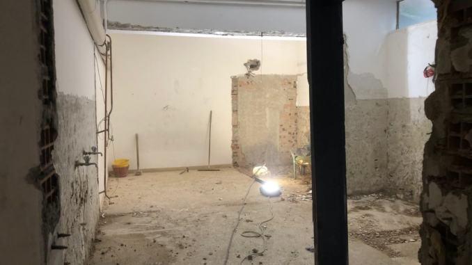 Palestra della scuola Fiumi, entro fine anno termineranno i lavori