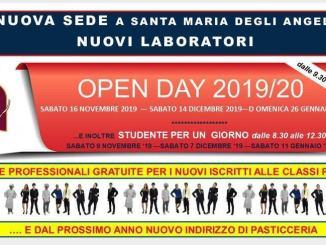 Scuola aperta 14 dicembre 2019 all'Istituto Alberghiero di Assisi