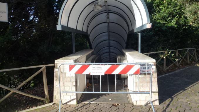 Scale mobili di Porta Nuova ad Assisi, al via la sostituzione dell'impianto