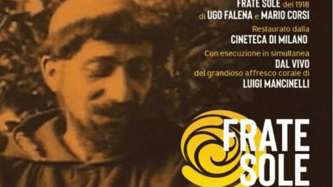 """Sul palco del Teatro Lyrick di Assisi la proiezione di """"Frate Sole"""""""