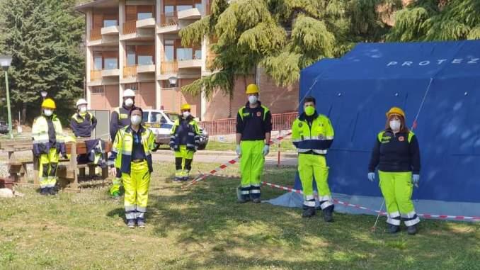 Tenda prociv davanti l'ospedale di Assisi montata, sindaco Proietti, Grazie!