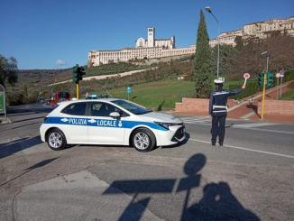 Zona arancione, controlli Polizia locale su territorio di Assisi