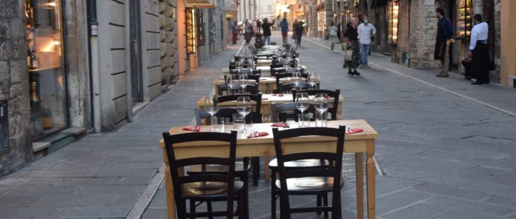 📰 Rassegna stampa 📰 – Tavoli all'aperto, corso Mazzini senza auto fino al 31 luglio