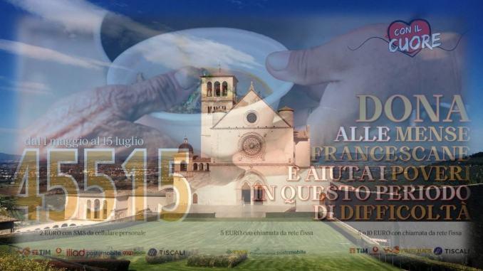 Con il Cuore nel nome di Francesco lunedì 18 conferenza stampa ad Assisi