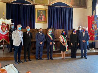 Patto di amicizia tra Assisi e Anagni, siglato nella sala della conciliazione