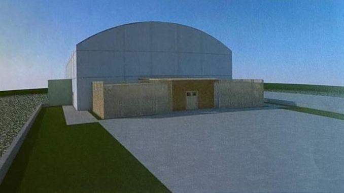 Una nuova tendostruttura a Santa Maria degli Angeli, per tutte le società sportive
