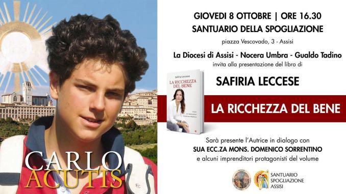 Carlo Acutis, presentazione del libro della giornalista Safiria Leccese