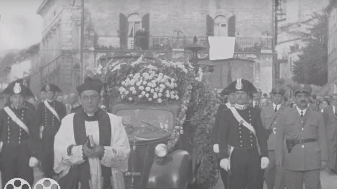 Assisi nel 1951 e oggi. Un filmato che fa molto riflettere