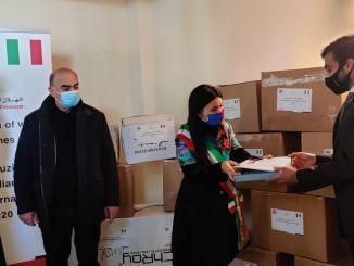 Assisi, Emirati Arabi regalano capi di abbigliamenti per i più bisognosi