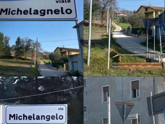 Palazzo, continuano le apparizioni e sparizioni di fantasiosi cartelli stradali