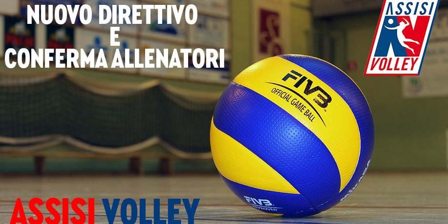 Novità e conferme in casa Assisi Volley: dal nuovo Direttivo agli allenatori, ecco i nomi dei protagonisti