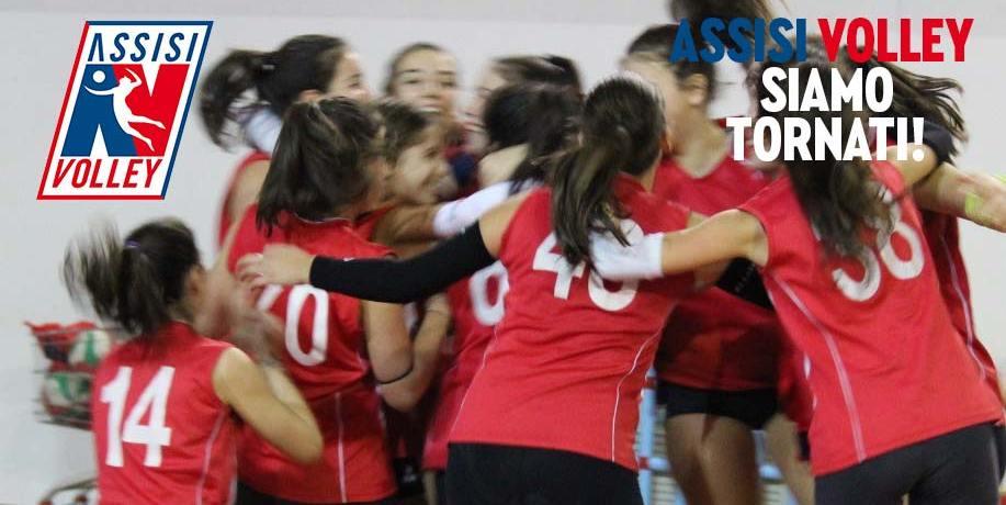 Di nuovo in campo con l'Assisi Volley!