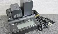 SONY ACアダプターチャージャー(AC-VQV10) バッテリー(NP-FV70,NP-FV100)