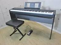 ヤマハ 電子ピアノ P-45 2016年製 椅子付き