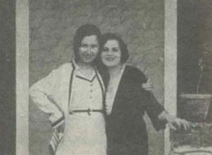 Cleo de Verberena e Carmen Santos para a revista Cinearte (1932)