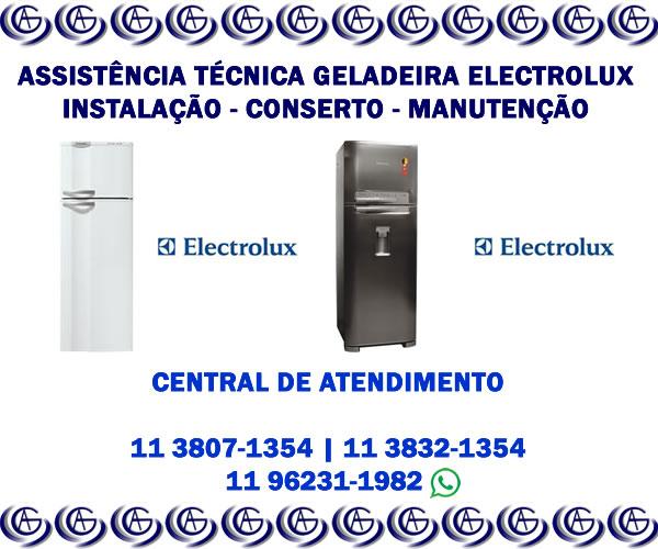 Assistência técnica geladeira Electrolux