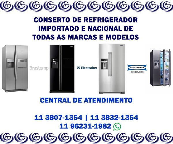 Conserto de refrigerador