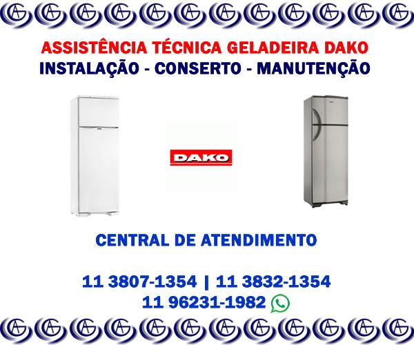Assistência técnica geladeira Dako
