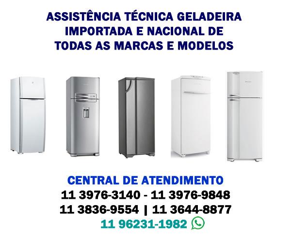 assistencia tecnica geladeira