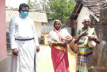 Gospel for Asia Pastor Plans Grocery Distribution
