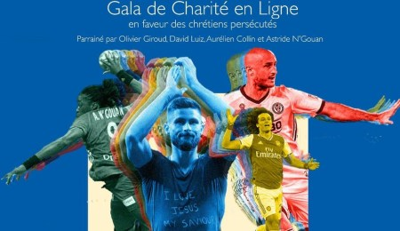 """Soccer Stars Raise Funds for Persecuted Christians through Online Charity Gala """"The Goal"""""""