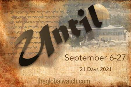Global Watch Sponsors 21 Days of Prayer Coinciding with Jewish Holiday Season and 20th Anniversary of 9/11