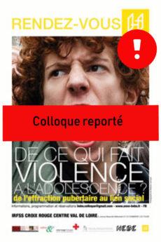 affiche colloque reporté