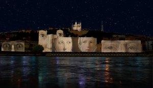 Regards illuminations à la Fête des Lumières de Lyon en 2015