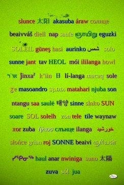 Soleil polyglotte
