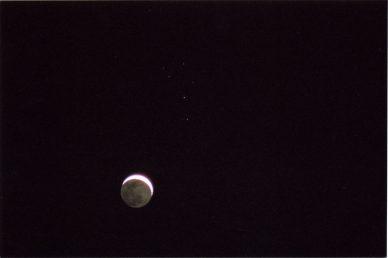 Conjonction Lune Pléiades