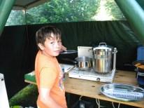 Le chef en cuisine !