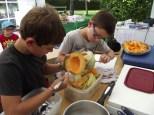Camp Super-Sympa 2014 - Préparation du repas
