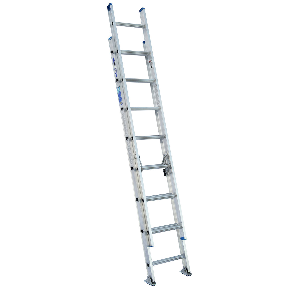 Werner Aluminum 250 Lb Rated Extension Ladders