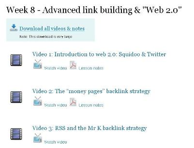 Advanced Link Building and Web 2.0