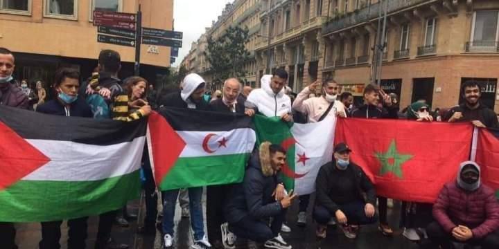 73 ans après la Nakbah, 46 ans après la Marche verte et 30 ans après le Plan de règlement de l'ONU pour le Sahara occidental, soutien et solidarité avec les peuples palestinien et sahraoui en lutte pour leur indépendance