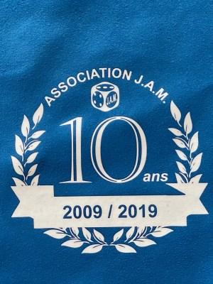 SERVIETTE SPORT MICROFIBRE CHAMOIS – Imprimée logo J.A.M. –