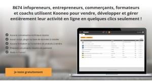 Kooneo Script pour vendre sur internet