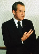 President Nixon Was he bamboozled into signing the bill by the unscrupulous rich?