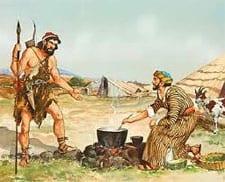 Esau Approaching Jacob
