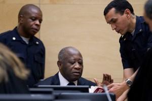 L'ancien président ivoirien Laurent Gbagbo à la CPI.