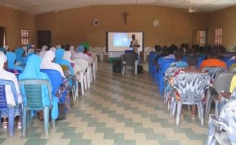 Des soeurs à l'Association Saint-Camille