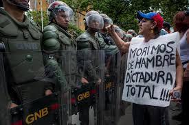 rivolta venezuela