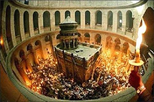 2 miracoli durante questa Pasqua ortodossa a Gerusalemme?