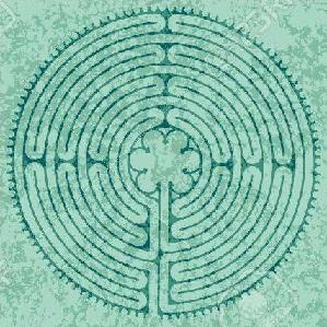Labirinto da percorrere con un dito per trovare nuove soluzioni…