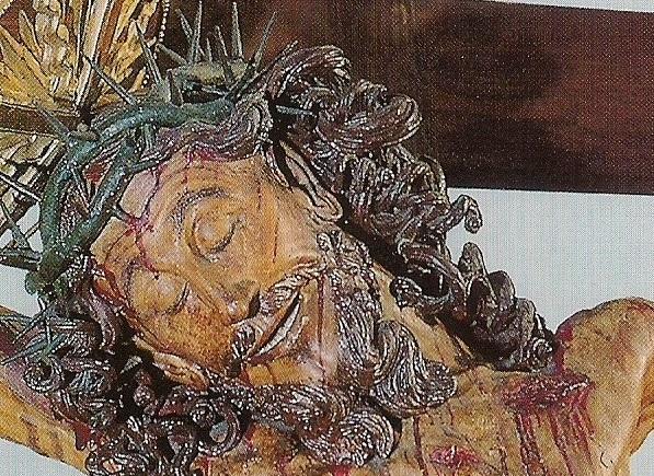 Il sorriso di Gesù sulla Santa Croce