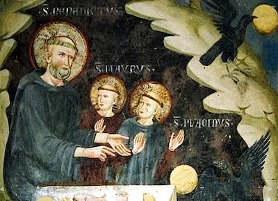 San Mauro e l'obbedienza bambina