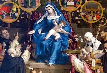 La Vergine Maria vede la buona volontà